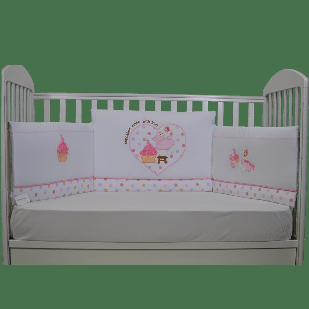 Baby Bedding Set Of 4 Cupcake Image 30 20 600x600 On Https