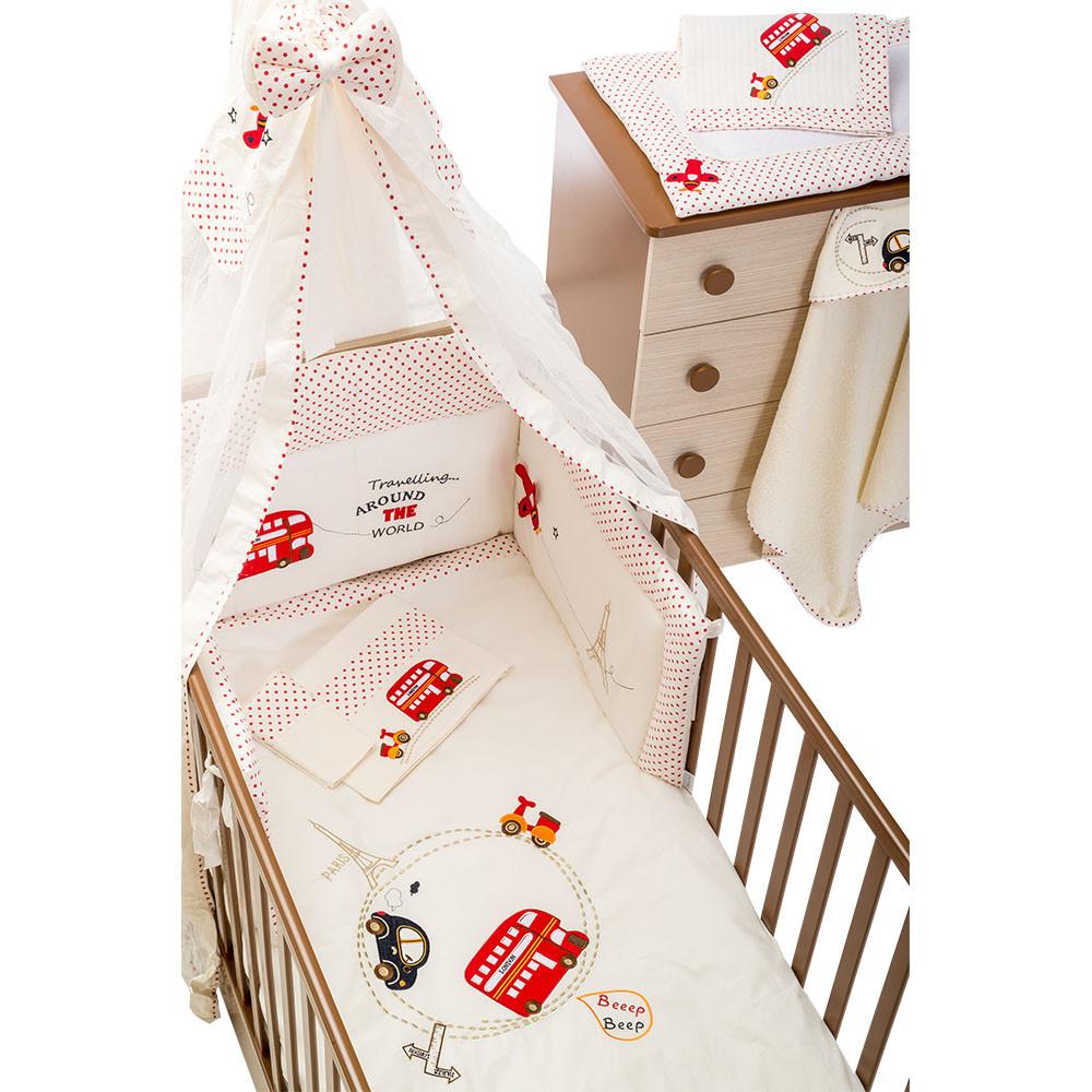 13255fa507b Προίκα Μωρού 4 τεμ. Happy Travel 2060 - Παιδικά & Βρεφικά Προϊόντα ...