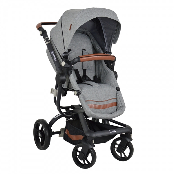 Πολυκαρότσι Torro 3σε1 Grey 360T-188 - image 360T-188-1-600x600 on https://www.bebestars.gr