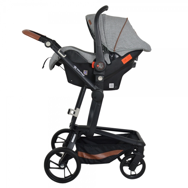 Πολυκαρότσι Torro 3σε1 Grey 360T-188 - image 360T-188-2-600x600 on https://www.bebestars.gr