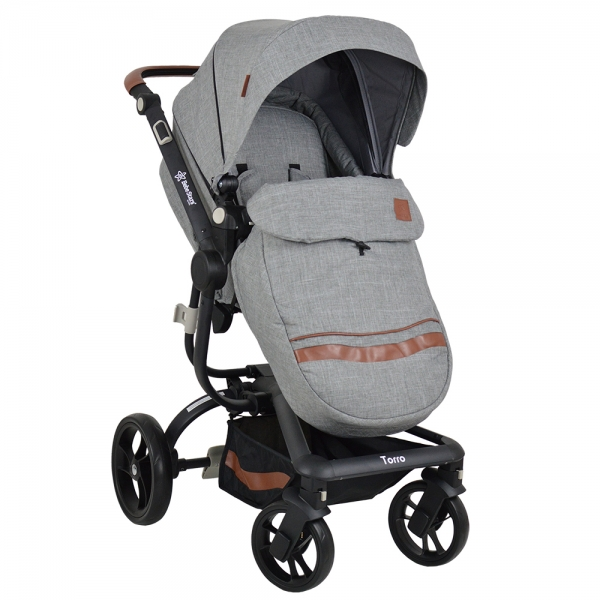 Πολυκαρότσι Torro 3σε1 Grey 360T-188 - image 360T-188-4-600x600 on https://www.bebestars.gr