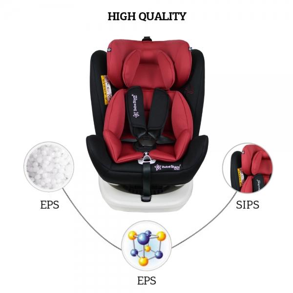 Κάθισμα Αυτοκινήτου Isofix 360° Levante Red 910-185 - image 910-185-HQ-600x600 on https://www.bebestars.gr
