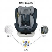 Κάθισμα Αυτοκινήτου Isofix 360° Levante Grey 910-186 - image 910-186-HQ-180x180 on https://www.bebestars.gr