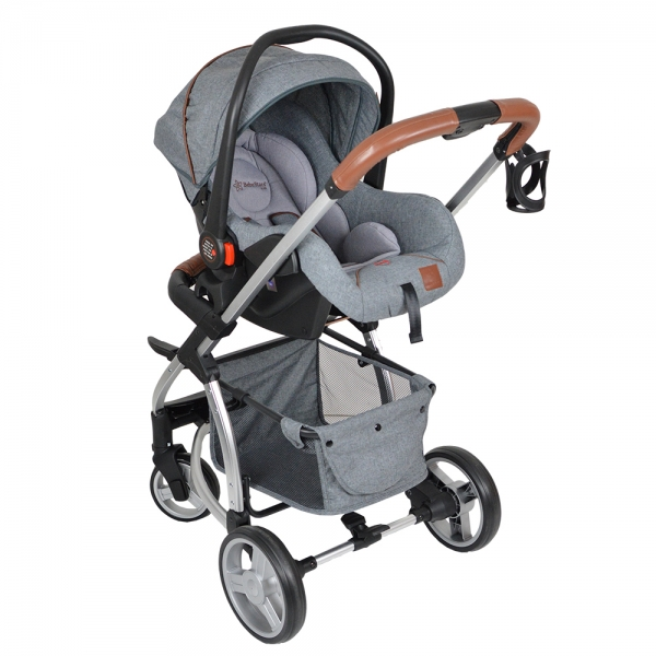 Πολυκαρότσι Αλουμινίου Malibu 3in1 Dark Grey 310-188 - image 310-188-4-600x600 on https://www.bebestars.gr