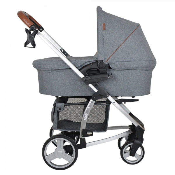 Πολυκαρότσι Αλουμινίου Malibu 3in1 Dark Grey 310-188 - image 310-188-5-600x600 on https://www.bebestars.gr