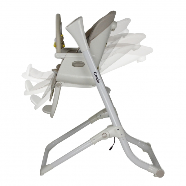 Καρέκλα Φαγητου & Ηλεκτρική Κούνια Combi 873-182 - image 873-182-recline-600x600 on https://www.bebestars.gr