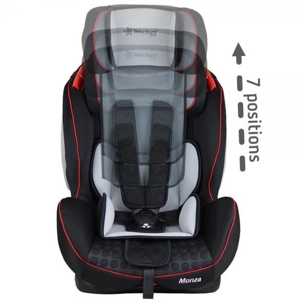 Κάθισμα Aυτοκινήτου Monza Black 906-188 - image 906-188-4-600x600 on https://www.bebestars.gr