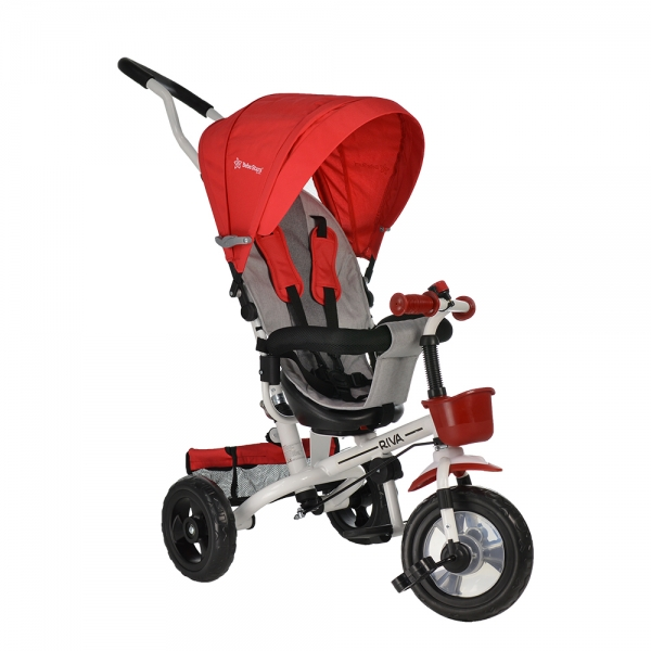 Baby Tricycle Riva Red 360° 812-180 - image 812-180-1-600x600 on https://www.bebestars.gr