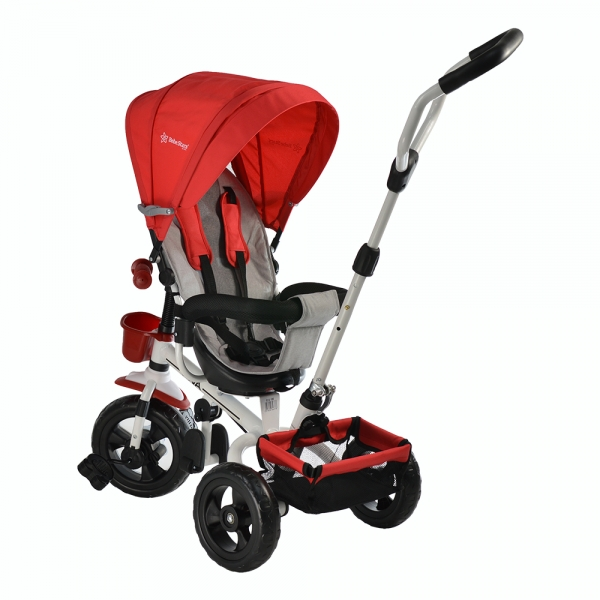 Baby Tricycle Riva Red 360° 812-180 - image 812-180-2-600x600 on https://www.bebestars.gr