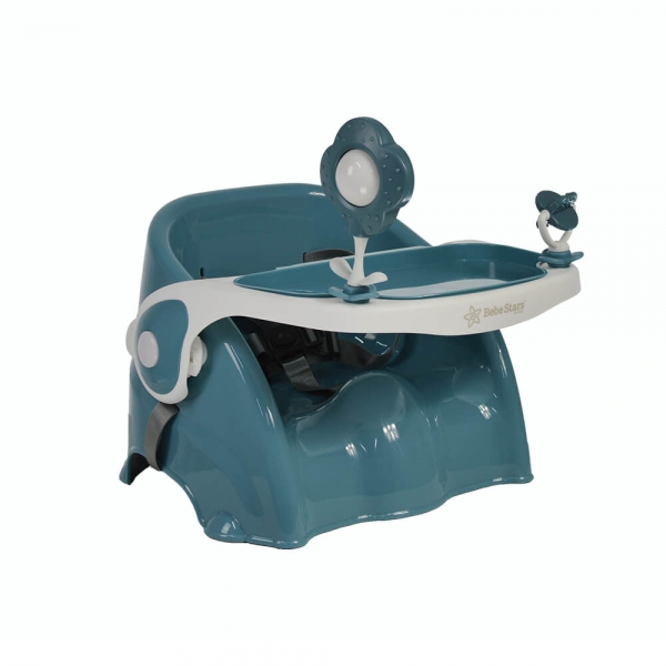High Chair Booster Petrol 896-184 - image 896-184-2-600x600 on https://www.bebestars.gr