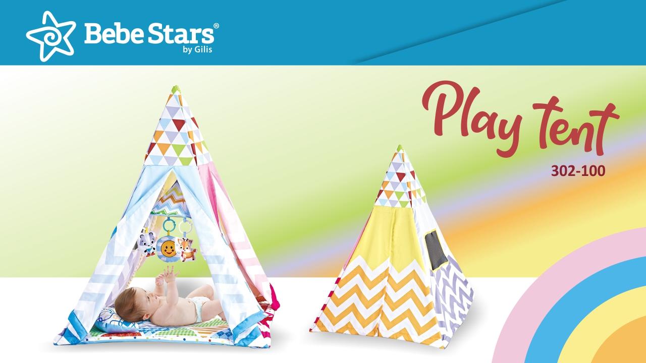 Φωτογράφιση-Διαφημιστική Καμπάνια 2019-2020 - image Play-tent-Gym on https://www.bebestars.gr