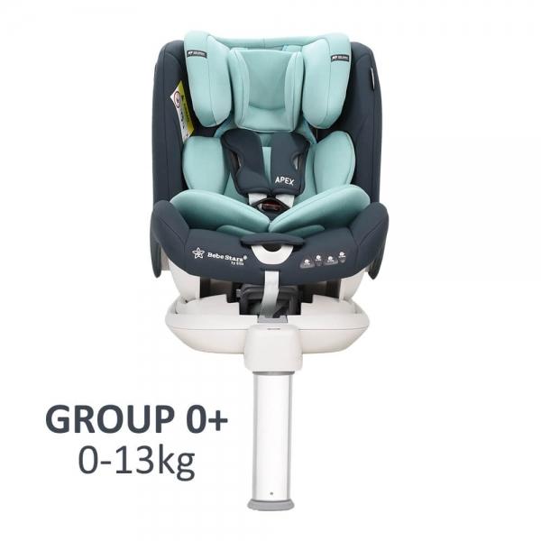 Car seat Apex Isofix 360° Mint  925-184 - image 925-184-G0-600x600 on https://www.bebestars.gr