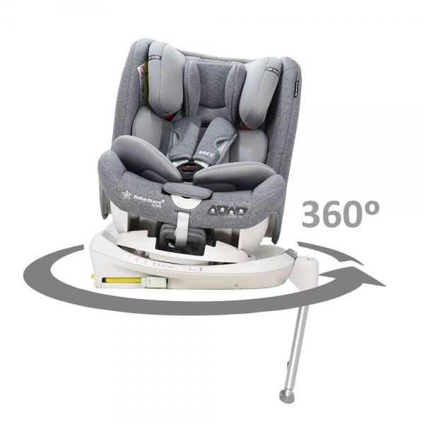 Car seat Apex Isofix 360° Grey 925-186 - image 925-186-360-600x600 on https://www.bebestars.gr