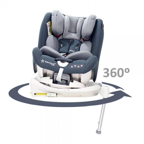 Car seat Apex Isofix 360° Black 925-188 - image 925-188-7-2-600x600 on https://www.bebestars.gr