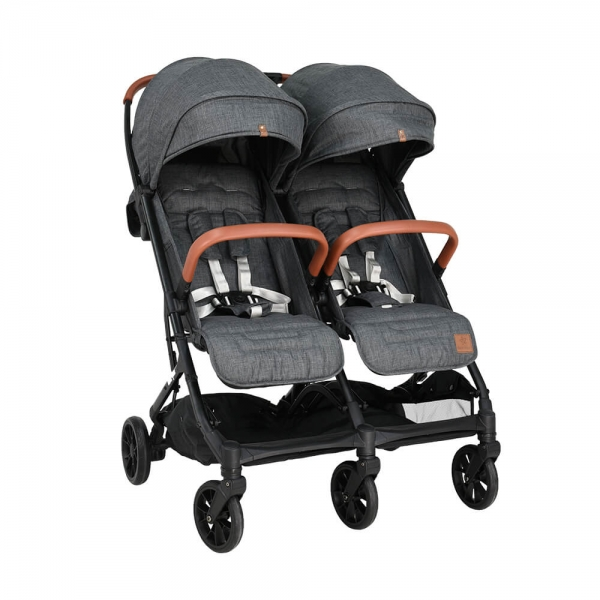 Baby Stroller Twin Gem Grey 7900-186 - image 7900-186-1-600x600 on https://www.bebestars.gr