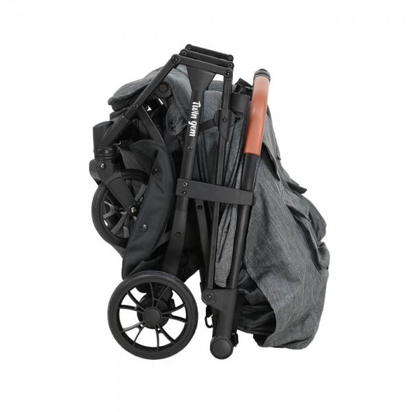Baby Stroller Twin Gem Grey 7900-186 - image 7900-186-11-600x600 on https://www.bebestars.gr