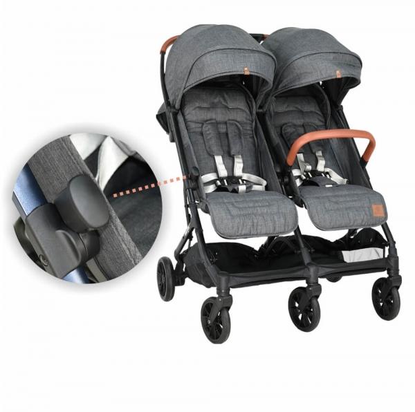 Baby Stroller Twin Gem Black 7900-188 - image 7900-186-13-600x596 on https://www.bebestars.gr