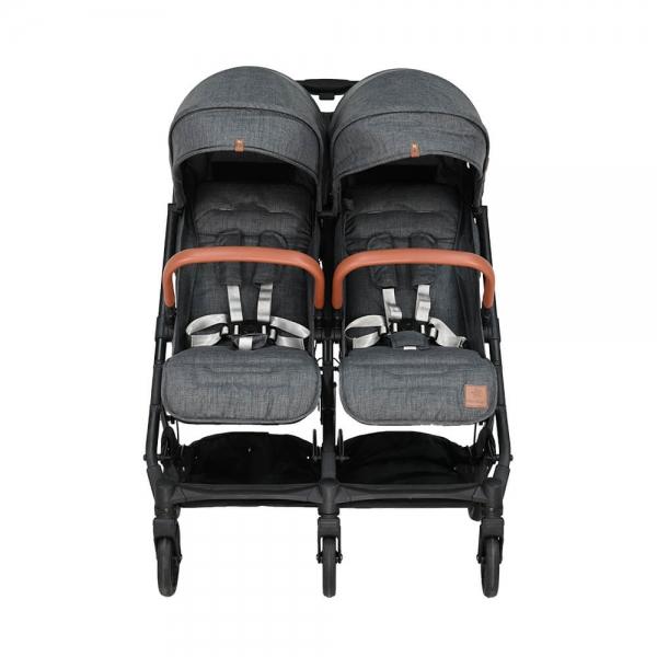 Baby Stroller Twin Gem Grey 7900-186 - image 7900-186-3-600x600 on https://www.bebestars.gr