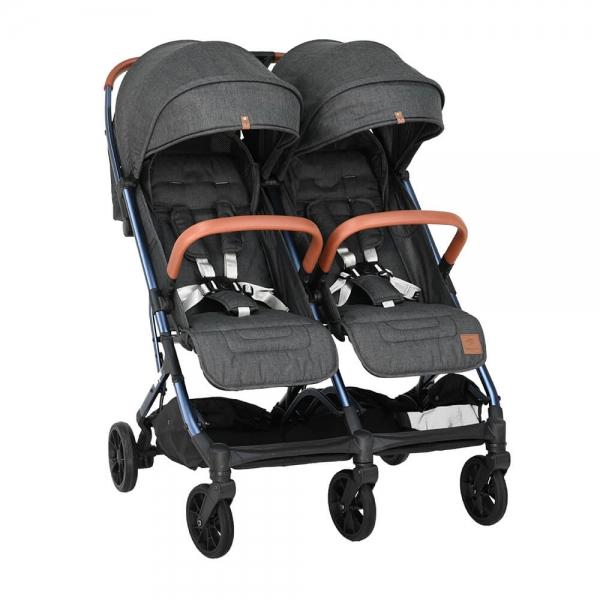 Baby Stroller Twin Gem Black 7900-188 - image 7900-188-1-600x600 on https://www.bebestars.gr