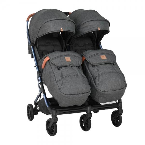Baby Stroller Twin Gem Black 7900-188 - image 7900-188-2-600x600 on https://www.bebestars.gr