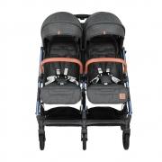 Baby Stroller Twin Gem Black 7900-188 - image 7900-188-4-180x180 on https://www.bebestars.gr