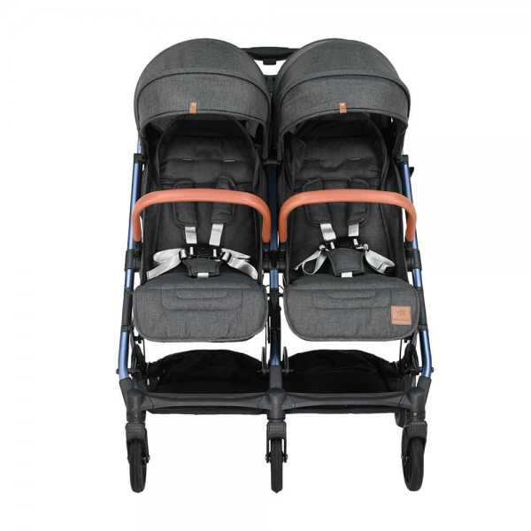 Baby Stroller Twin Gem Black 7900-188 - image 7900-188-4-600x600 on https://www.bebestars.gr