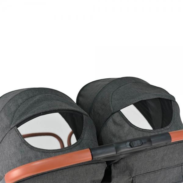Baby Stroller Twin Gem Black 7900-188 - image 7900-188-7-600x600 on https://www.bebestars.gr
