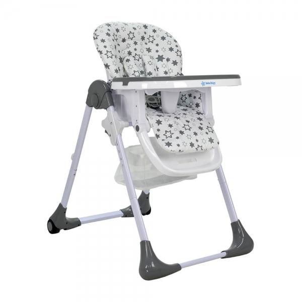 High chairs Happy Grey 869-186 - image 869-186-1-600x600 on https://www.bebestars.gr
