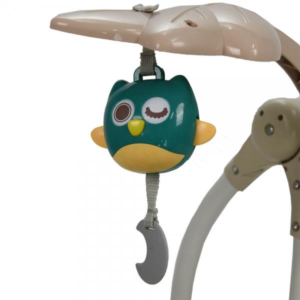 Electrical Swing & Baby Bouncer Fox 323-184 - image 323-184-7-600x600 on https://www.bebestars.gr