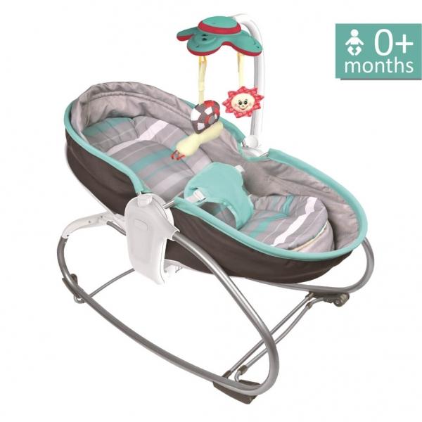 Baby Bouncer & Swing Snooze 3 in 1 Grey 324-186 - image 324-186-600x600 on https://www.bebestars.gr