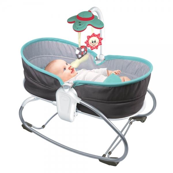 Baby Bouncer & Swing Snooze 3 in 1 Grey 324-186 - image 324-186_2-600x600 on https://www.bebestars.gr