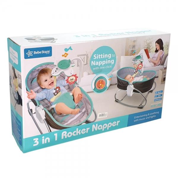Baby Bouncer & Swing Snooze 3 in 1 Grey 324-186 - image 324-186_a-600x600 on https://www.bebestars.gr